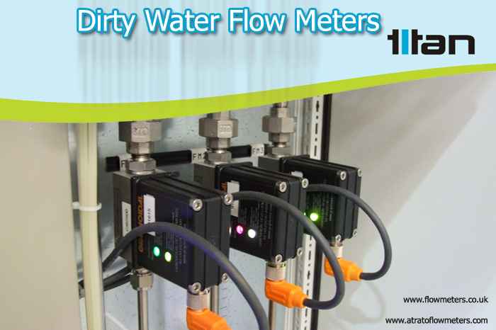 dirty water flow meters