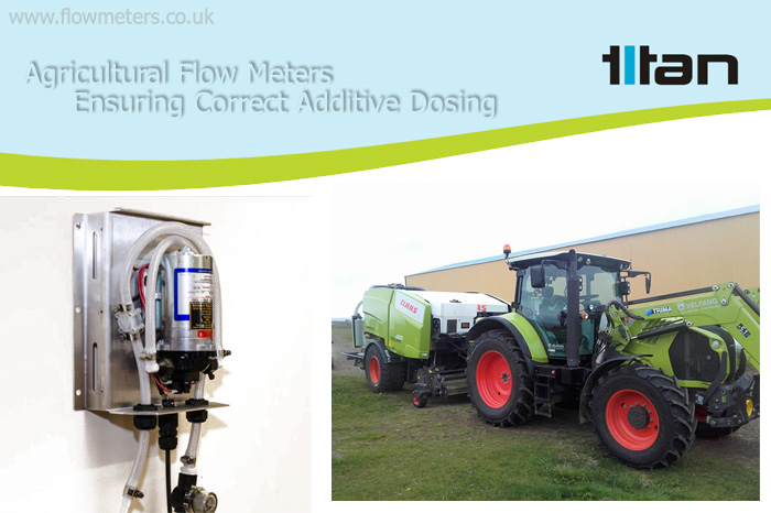 farming flow meters and sensors