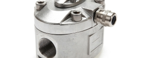 OG5 Oval Gear Flow Meter in Stainless Steel