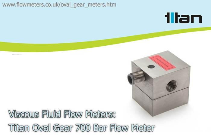 viscous liquid flow meters