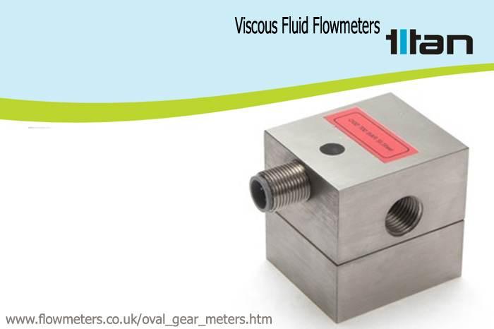 viscous fluid flow meters