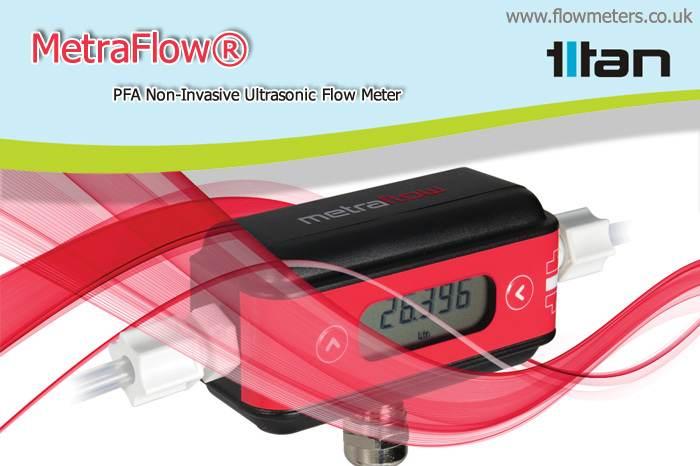 non invasive ultrasonic flow meter