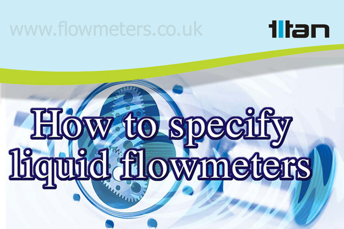 how to specify liquid flow meters