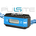 battery powered flow meter indicator rate and totalising flow switch