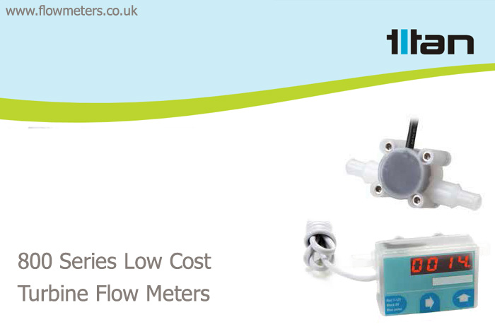 low cost flow measurement turbine meters