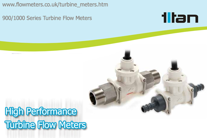 high performance turbine flow meters