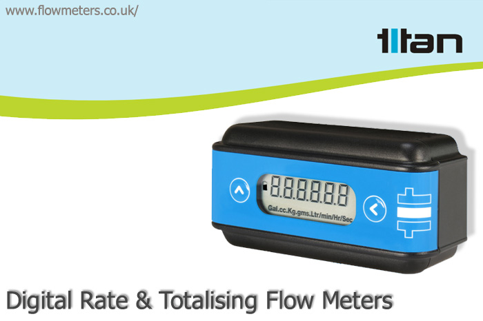 digital rate totalising flow meter sensor