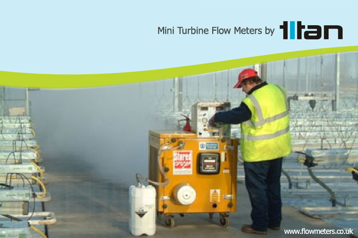 mini turbine flow meters and sensors