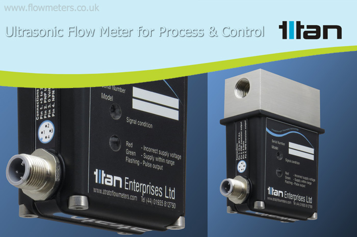 ultrasonic flow meter/sensor for process and control