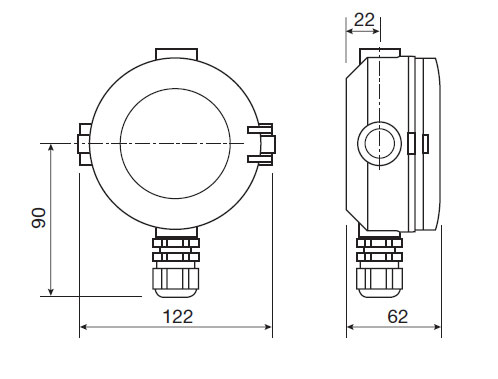 rate and totalising flow sensor