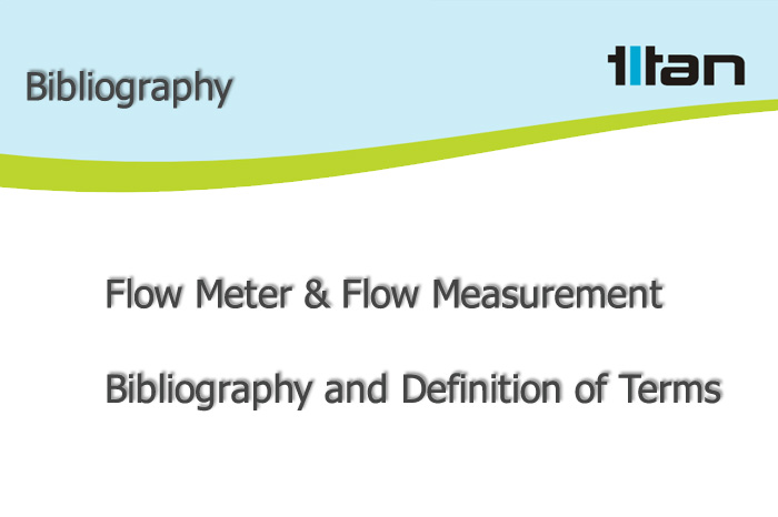 definition of flow meter and flow measurement terms