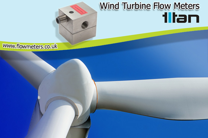 wind turbine flow meters