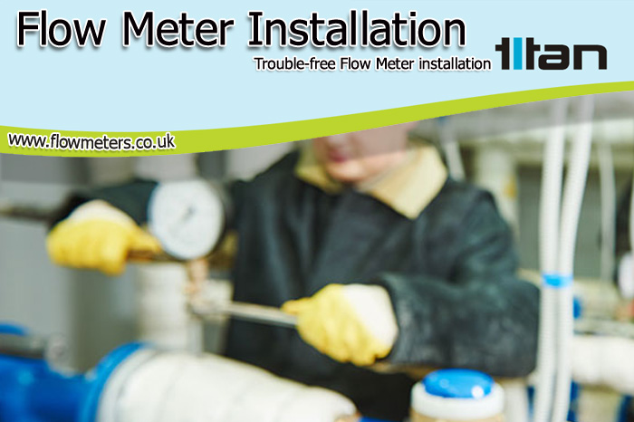 flow meter installation