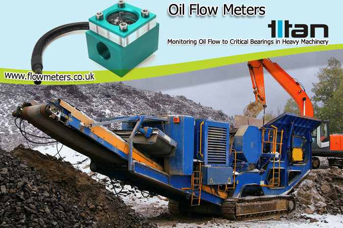 oil flow meters Monitoring Oil Flow to Critical Bearings in Heavy Machinery