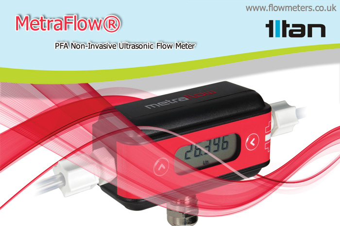 non invasive ultrasonic flow meter