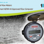 weatherproof flow meters