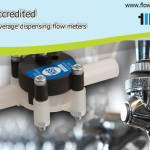beverage dispensing flow meter