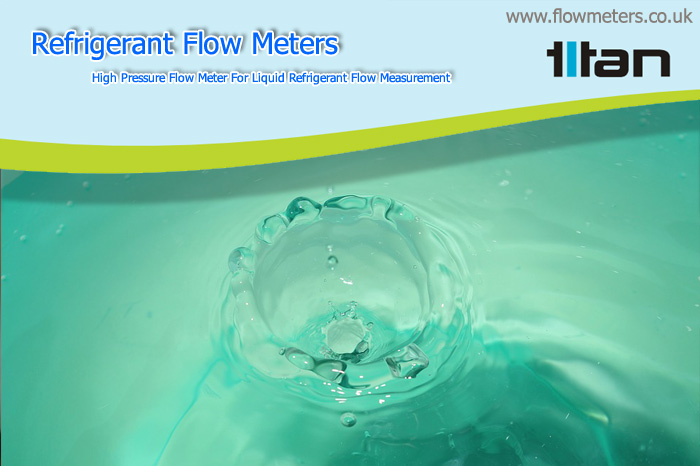 flow meters for liquid refrigerant flow measurement
