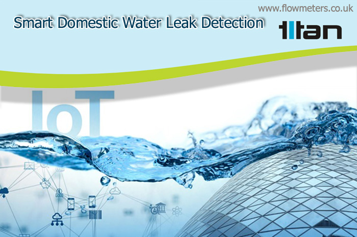 smart domestic water leak detection