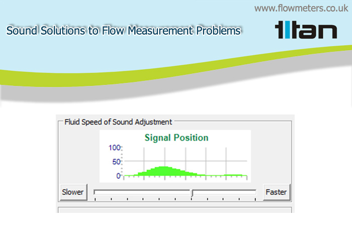 Using an Ultrasonic Flowmeter Outside its Normal Speed of Sound Window