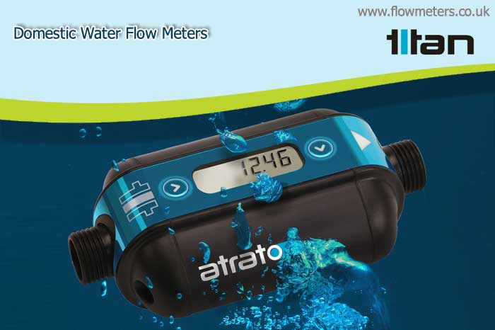 domestic water flow meters