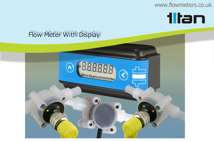 flow meter with display