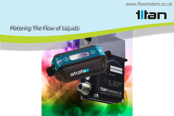 metering the flow of liquids