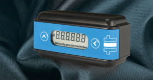 rate and total flow meter