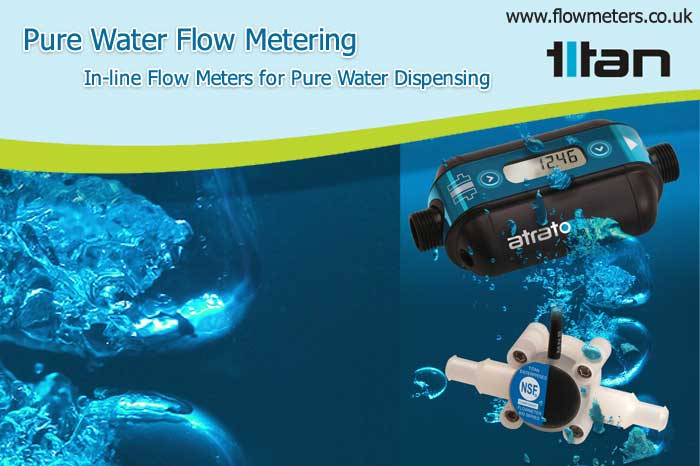 pure water flow metering