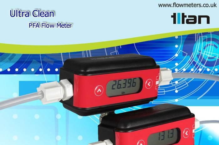 pfa flow meter