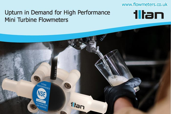 mini turbine flowmeters